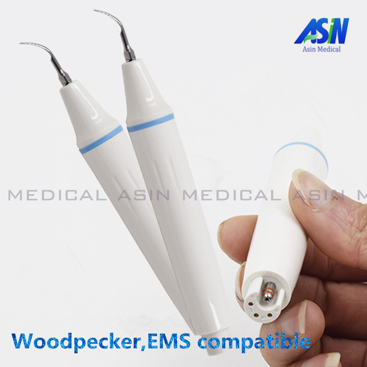 2017 New woodpecker EMS compatible scaler handpiece stable  quite good quality dhl ems 1pc for good quality fr e740 5 5k cht plc new