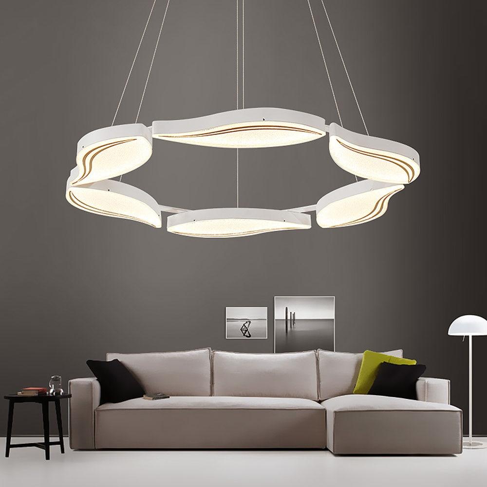 HGHomeart Moderna LED Lampadario Classico Rotondo Acrilico ...
