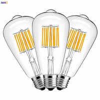 IWHD ST64 LED Filament Edison Bulb Lamp E27 220V Industrial Decor Vintage Retro Lamp Light Bulb Ampoule Bombillas Gloeilamp