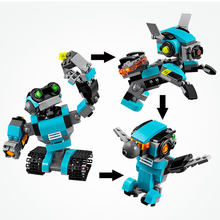 Lepin 24020 Legoing Creators Series The Cute Robot Building Block Model Enlighten Toy For Children Birthday Gift Compatible(China)