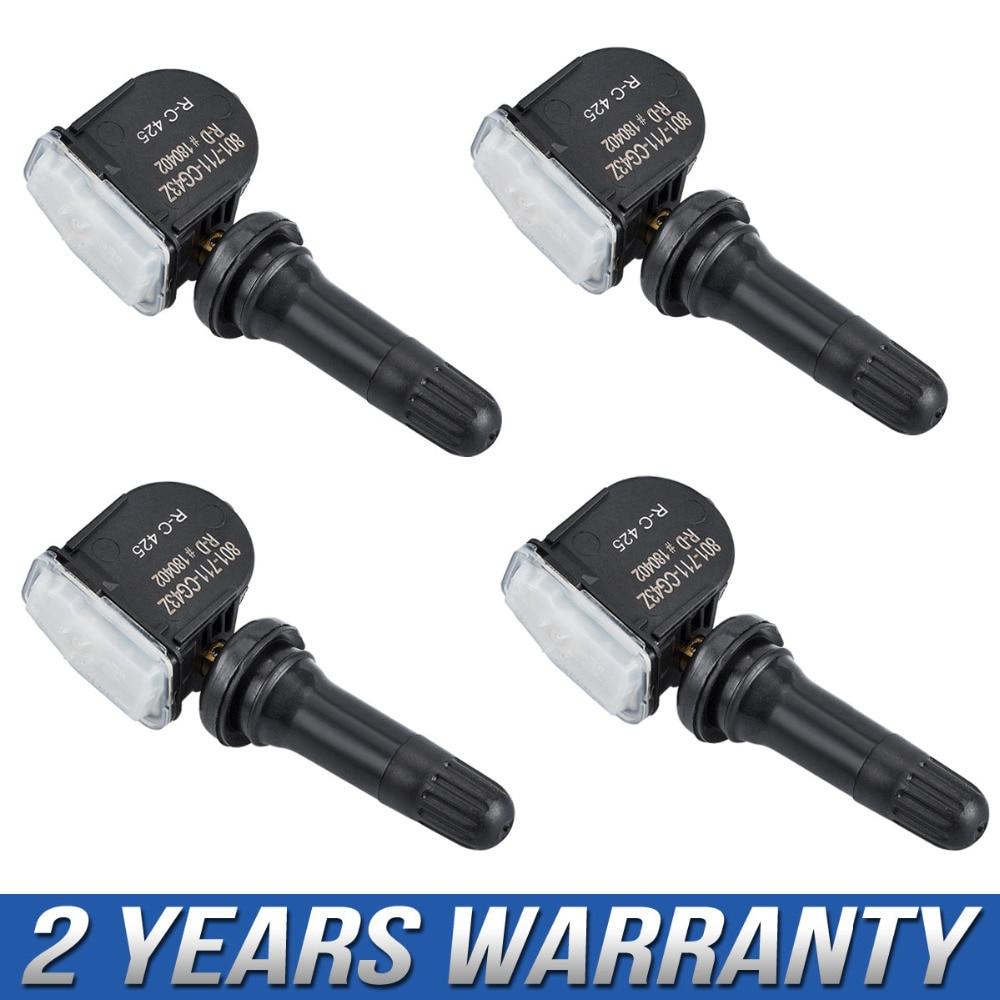 цена на 4pcs Tire Pressure Sensor For Buick Enclave Lucerne Cadillac CTS Chevrolet Impala GMC Pontiac Saturn 13581558 13586335 25920615