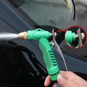 Image 5 - 2018 yeni bakır ayarlanabilir yüksek basınçlı araba yıkama su tabancası kafa bahçe ev yıkama temizlik makinesi aracı aksesuarları