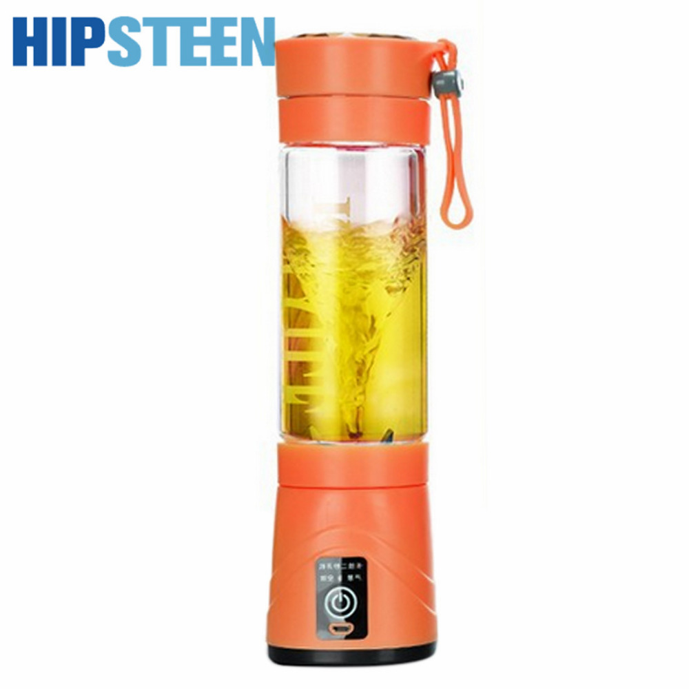 Portable Kitchen Electric Fruit Juicer Blender Mixer Bottle Rechargeable Household USB Safety Extractor Gift