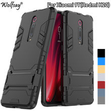 Cover Xiaomi Mi 9T Case 6.39 Shockproof Hybrid Stand Silicone Armor Back For on Mi9T 9 T