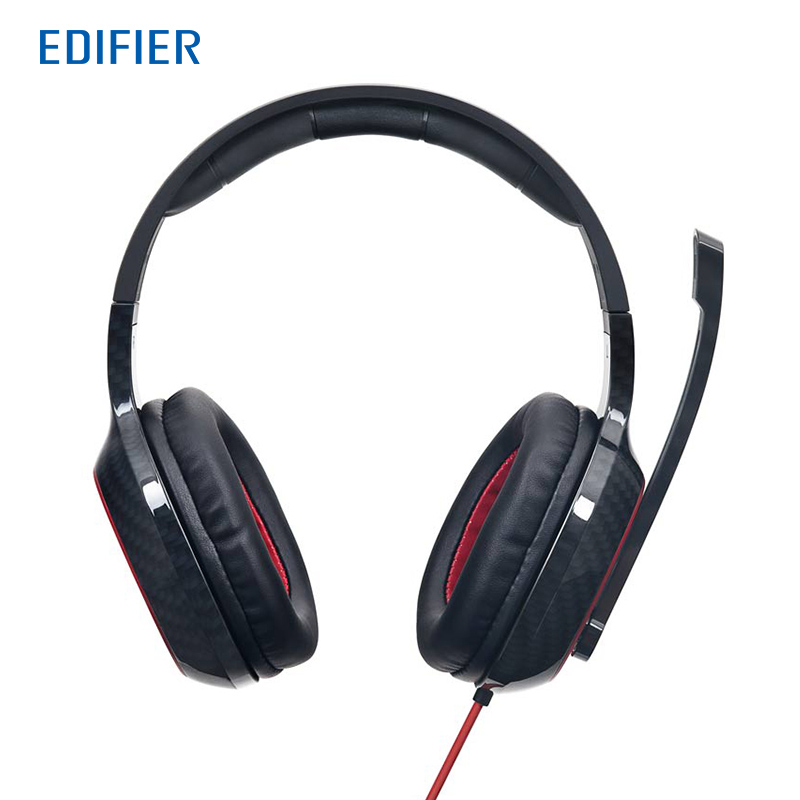 Edifier G20 Game Headphone 7.1 Virtual Surround Sound Gaming Headset with Rotatable Unidirectional Microphone USB Game Headset kotion each g9000 usb 7 1 surround sound version game gaming headphone headset earphone headband with microphone led light