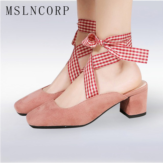Plus Size Ankle Strap Stiletto Heel Lace Sandals - PINK From China Cheap 100% Original Outlet Cost Cheap Footlocker Finishline Visit Sale Online HQo78dD