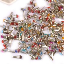 Brads Scrapbooking-Accessories Rhinestone Shoes Fastener Decoration Metal-Crafts