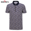 Seven7 Brand Fashion Polo Shirts Printing Stamp Patte Turn-down Collar Polo Shirts Casual Short Sleeve Polo Shirts  110T50560