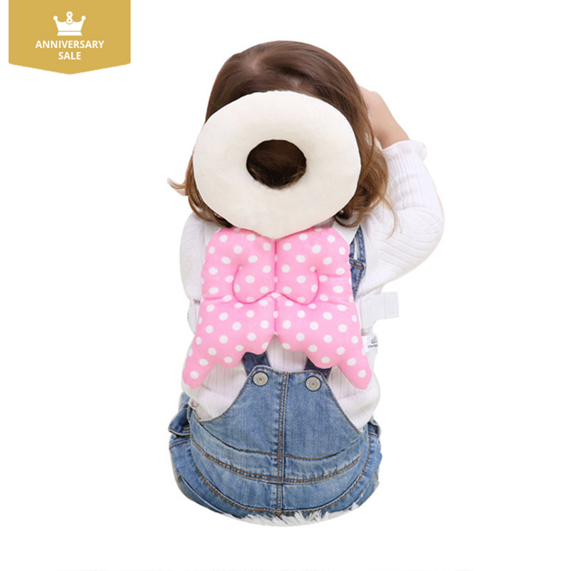 New Baby Head Protector Pillow Toddler Children Protective Cushion for Learning Walk Sit Head Protector Baby safe care baby head protective pad cartoon animal toddlers pillow infant learning walk safety cushion fj88