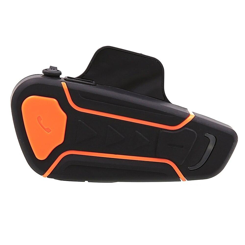 2019 1000m Waterproof 100% Motorcycle Helmet Intercom Moto Bluetooth Interphone Headset With FM Function