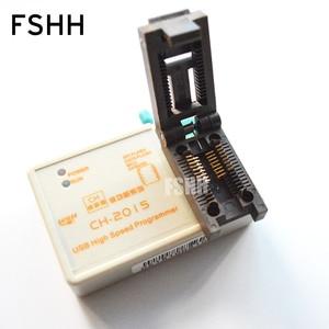 Image 3 - ÜCRETSIZ KARGO! programı CH2015 USB Yüksek hızlı programcı + 300mil FP16 to DIP8 soket eeorom/spi flaş/veri flaş/ AVR MCU programcı