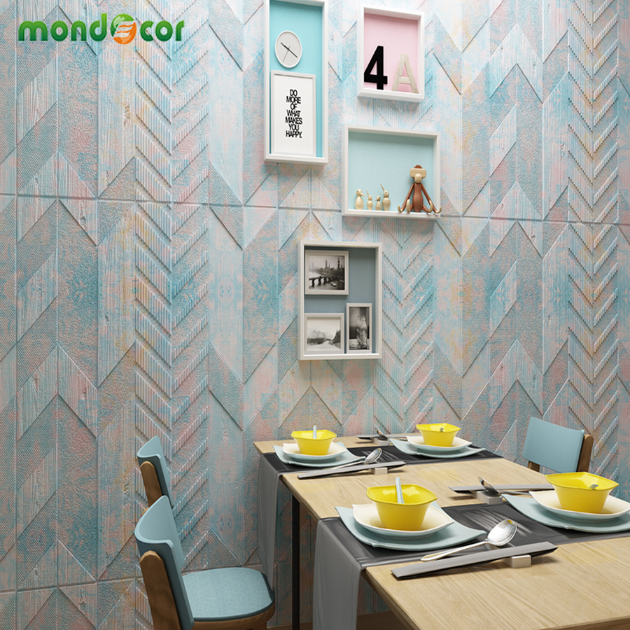 2019 Modern Popular Self-adhesive 3D Wallpapers for Kids Room Thick Waterproof Arrow Shape Contact Papers Wall Cover Room Decor2019 Modern Popular Self-adhesive 3D Wallpapers for Kids Room Thick Waterproof Arrow Shape Contact Papers Wall Cover Room Decor