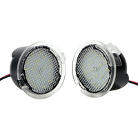 ITimo For Ford Edge Mondeo Explorer F150 2Pcs Set LED Under Side Mirror Light Car Styling