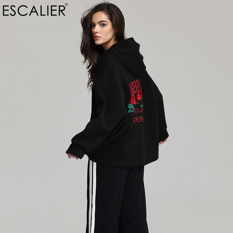 Escalier 2017 Autumn Basic Jacket Women Casual Batwing Sleeve Coat Fashion Bottom of The Drawstring Can Be Tightened Outwear