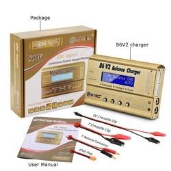 HTRC Imax B6 V2 80 Вт 6A RC Баланс Зарядное устройство для LiIon/жизнь/NiCd/NiMH/высокая мощность Батарея LiHV 15 В 6A адаптер переменного тока дополнительно