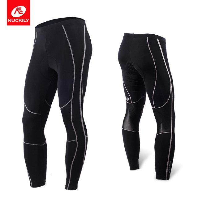 NUCKILY Cycling Pants Men Road Bike Tights Gel Pad With Extreme Reflective  Strips and Perfect Fits for Spring and Autumn MM003 200a7609c