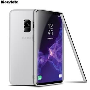 Image 4 - For Samsung Galaxy S9 S9 Plus S10E S10 Plus 0.3mm Ultra Thin Matte Plastic Back Cover Case for Samsung S9 Plus Fashion Case