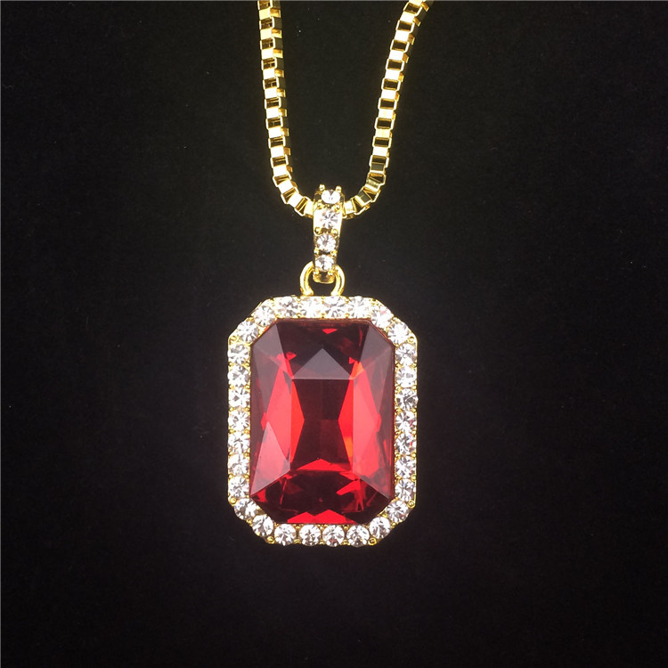 Buy crystal onyx pendant necklace set for Red black and green jewelry