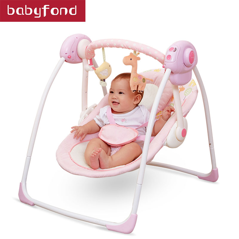 Babyrule bébé sommeil chaise berçante berceau électrique balancelle bébé nouveau-né confort sommeil berceaux