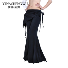 Bellydance Pants For Women Tribal Fusion Belly Dance Clothes Ladies High Waist Flare Trousers Yoga Pants Belly Dance Pants