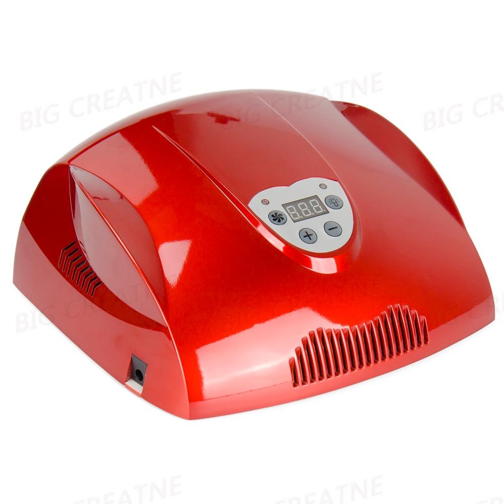 48W CCFL+LED UV Nail Lamp Light AC 110-220V Nail Dryer with Automatic Sensor Timer Setting Nail Polish Tools nail polish gel tools professional ccfl 48w led uv lamp light 110 220v nail dryer with automatic induction 10s 20s 30s timer