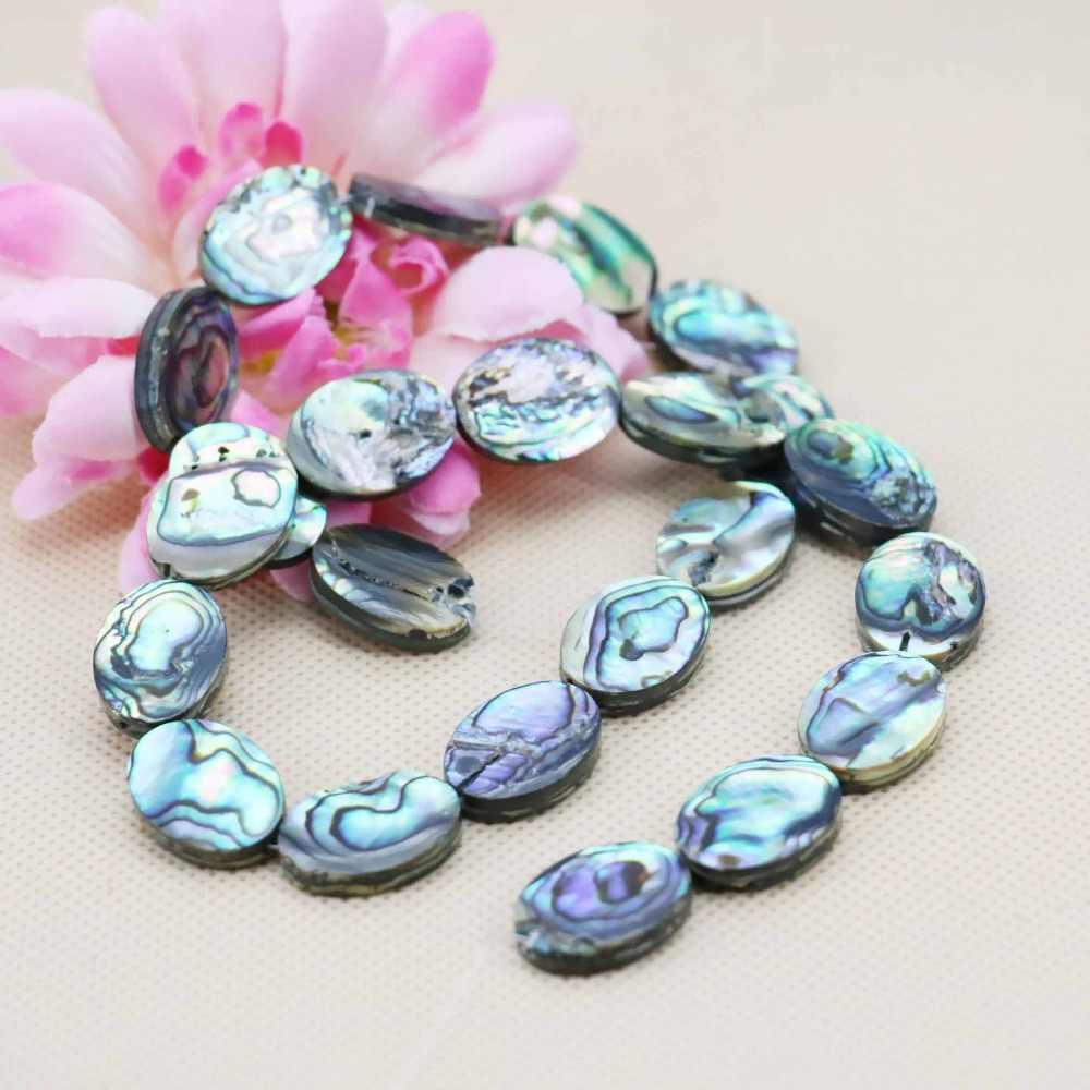 13*18mm akcesoria 16 cal gorąca sprzedaż naturalne Abalone muszle muszle luźne koraliki diy kobiety dziewczyny prezenty projekt tworzenia biżuterii
