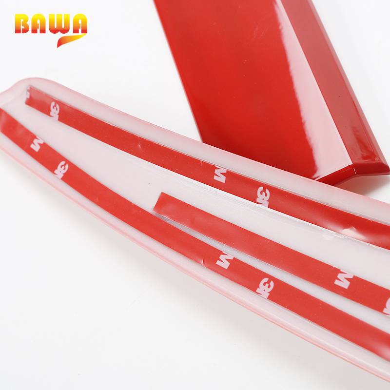 BAWA ABS Door Decoration Strip Accessories for Jeep Renegade 2016 2017 Car Body Side Stickers-in Car Stickers from Automobiles & Motorcycles    3