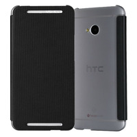 For HTC One M7 Case New 2015 Fashion Luxury Genuine Leather Stand Phone Case Cover Cell