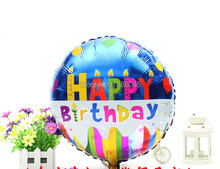 18 Inch Happy Birthday Helium Foil Balloons 1th Birthday Party Holiday Decorations Party Supplier
