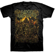 Customised T Shirts MenS Crew Neck Amon Amarth Loki Deceiver Of The Gods Short Printing Machine Broadcloth