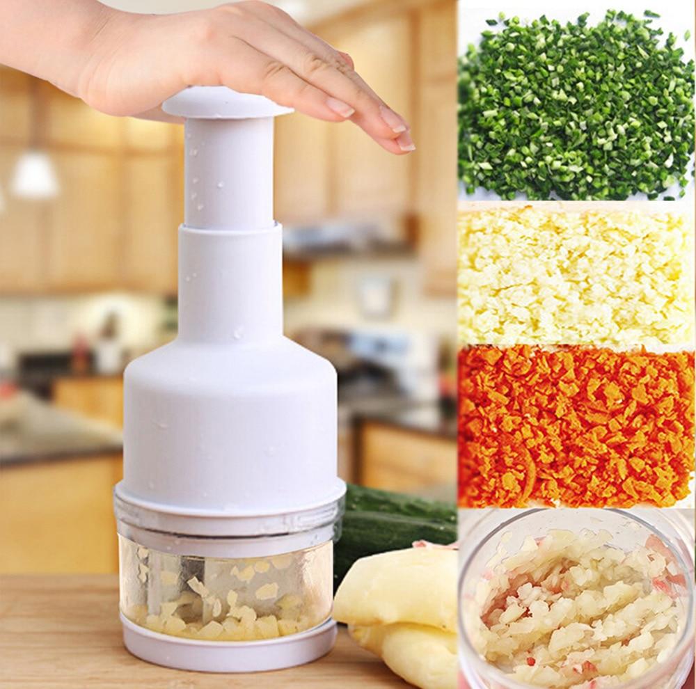 High Quality Kitchen Gadgets Pressing Vegetable Onion Garlic Chopper Cutter Slic