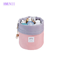 HMUNII Vanity Pouch Necessaire Trip Beauty Women Travel Toiletry Kit Make Up Makeup Case Organizer Cosmetic Bag for Beautician