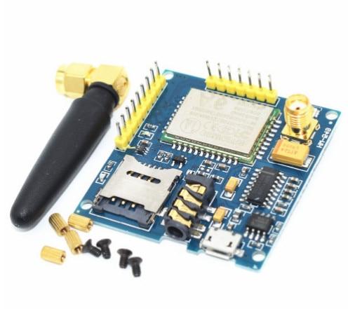 A6 gprs pro serial gprs gsm módulo núcleo diy placa de desenvolvimento substituir sim900 novo