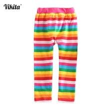 RETAIL 2014 new NOVA brand kid print pants baby girl long trousers cartoon legging children clothing wear Peppa pig star G4219