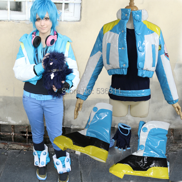 halloween costumes for adult Dramatical Murder dmmd aoba seragaki cosplay  costume Seragaki Aoba cosplay jacket outfit