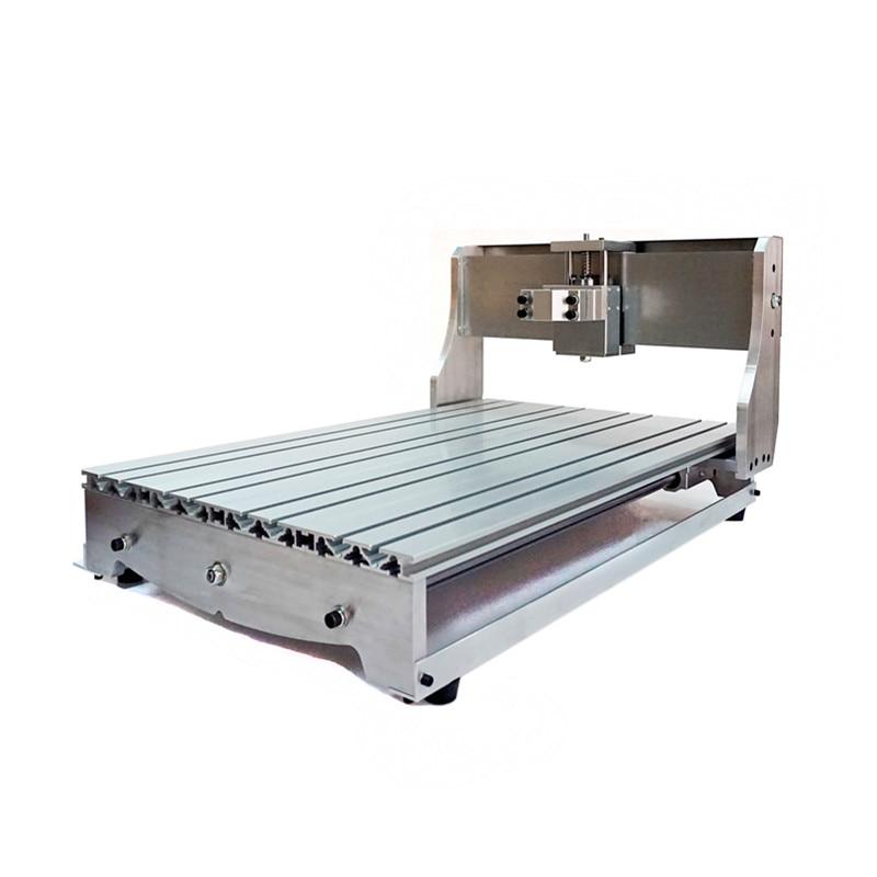 CNC cadre tour 6040Z avec vis à billes broche support à pince lit axe optique portant pour bricolage machine pas à pas moteur base