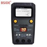 BSIDE ESR02 PRO Digital Transistor SMD Components Test Multimeter Capacitance Diode Triode Inductance Multimeter ESR Tester
