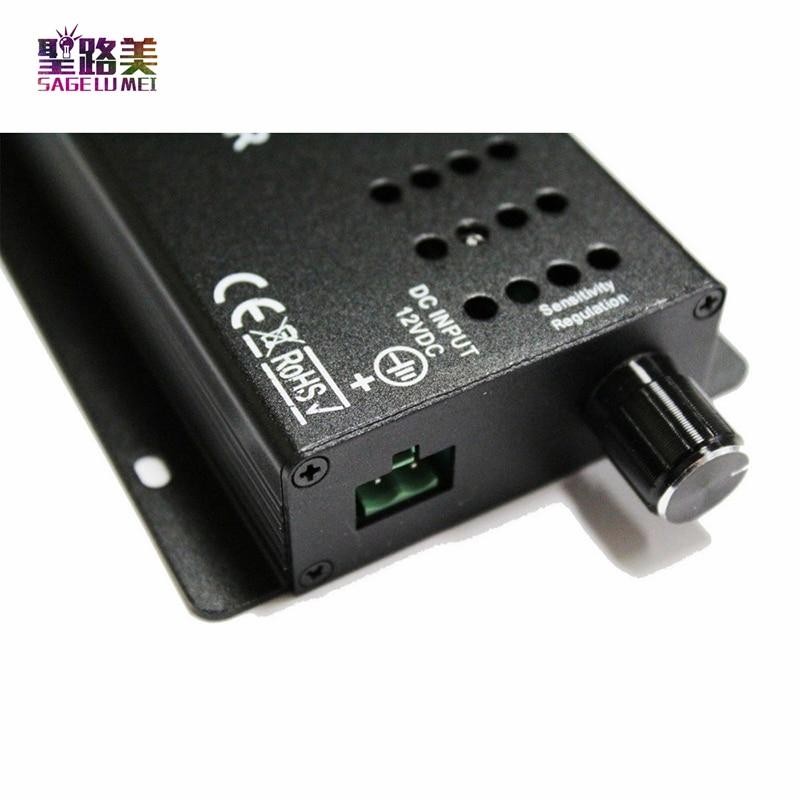 najbolja cijena DC12-24V 24 tipke glazbeni kontroler IR daljinski RGB - Različiti rasvjetni pribor - Foto 3