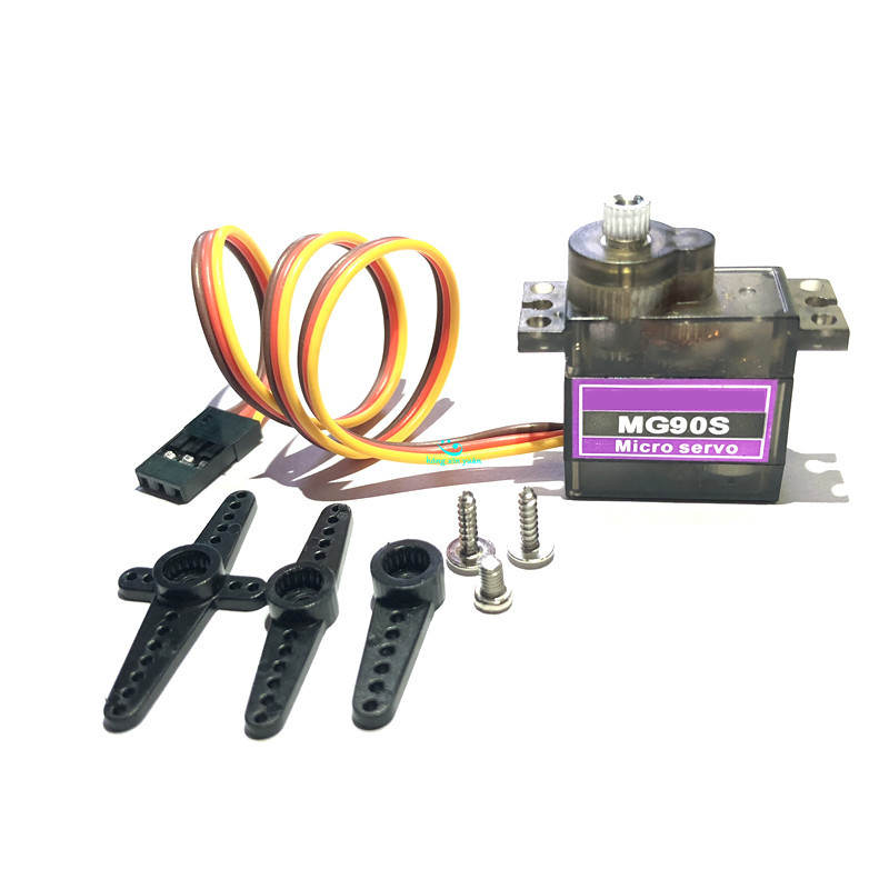 MG90S 9g Metal Gear Upgraded SG90 Digital Micro Servos for Smart Vehicle Helicopter Boart Car 100