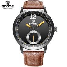 SKONE de Marca de Moda Casual hombres reloj de cuarzo Relojes Deportivos relogios masculinos montre homme