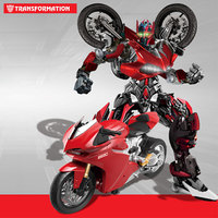 Deformation Remote controlled Motorcycles Charging Car Robot for Gift