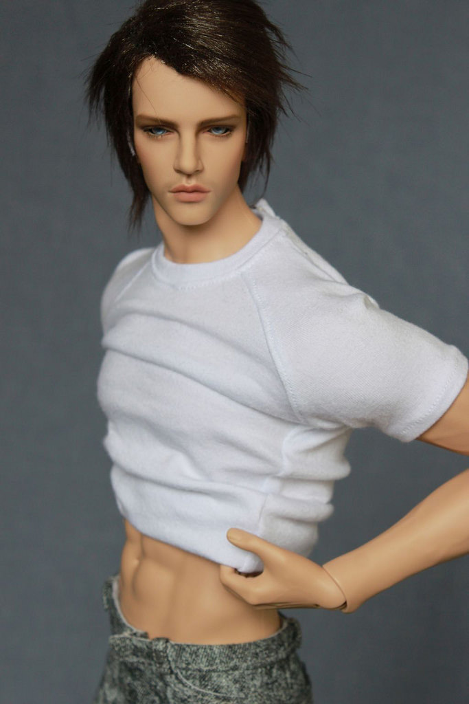 HeHe bjd sd hot sale boy 1/4 body 49.5cm fid body free eyes faceup low price to papua new guinea 3