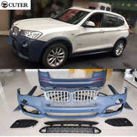 F25 X3 PP M Sport style unpainted Auto Car Bumper Styling Body Kits For BMW F25 X3 2013UP