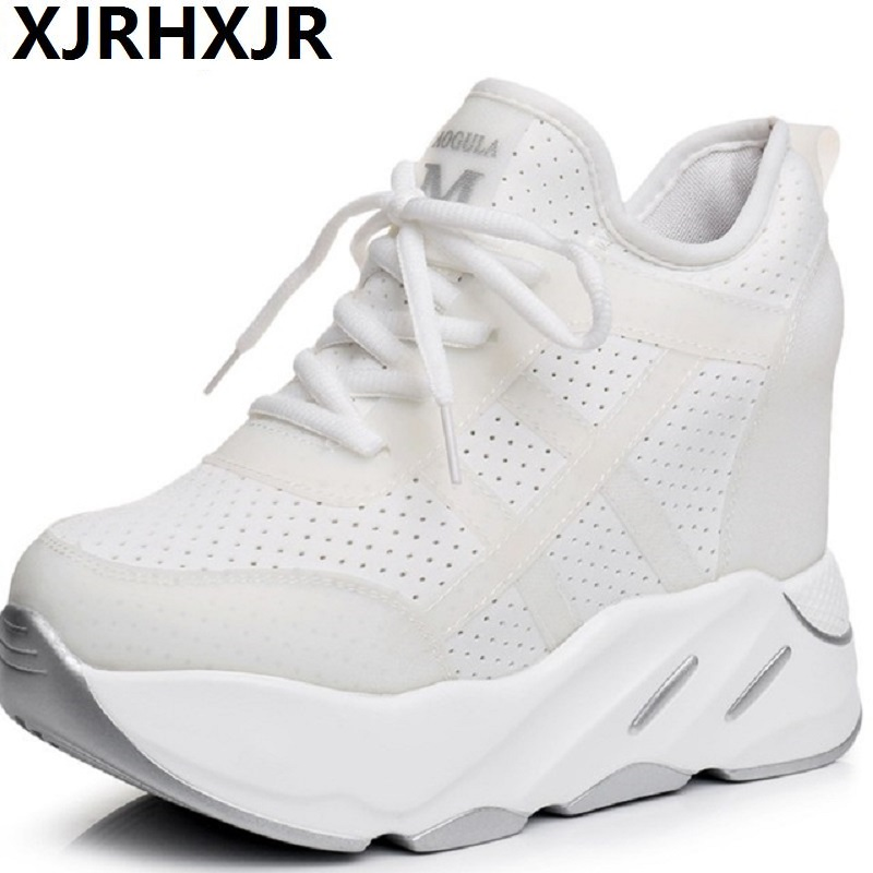 2018 Spring Autumn Fashion Sneakers Women Lace Up Breathable Trainers Women Platform Shoes Tenis Feminino Casual Shoes Women smile circle spring autumn shoes women fashion pointed toe lace up sneakers for women flat casual platform shoes tenis feminino