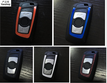 For bmw key sticker For BMW E46 E52 E53 E60 E90 F01 F20 F10 F30 F15 X1 X3 X5 X6 new 1 Series 3 Series 5 Series car styling image