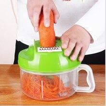 Multifunktions Küche Manuellen Küchenmaschine Haushaltsfleischwolf Gemüse Chopper Schnell Schredder Grün Cutter Egg Mixer