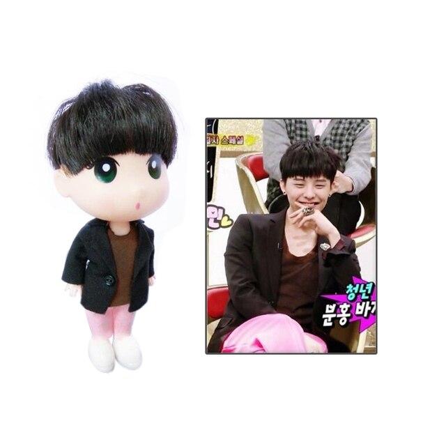 """KPOP G-Dragão BigBang GD Plástico Limitado Figura Bonito Boneca 13 cm/5 """"Toy Display Gift Collection"""