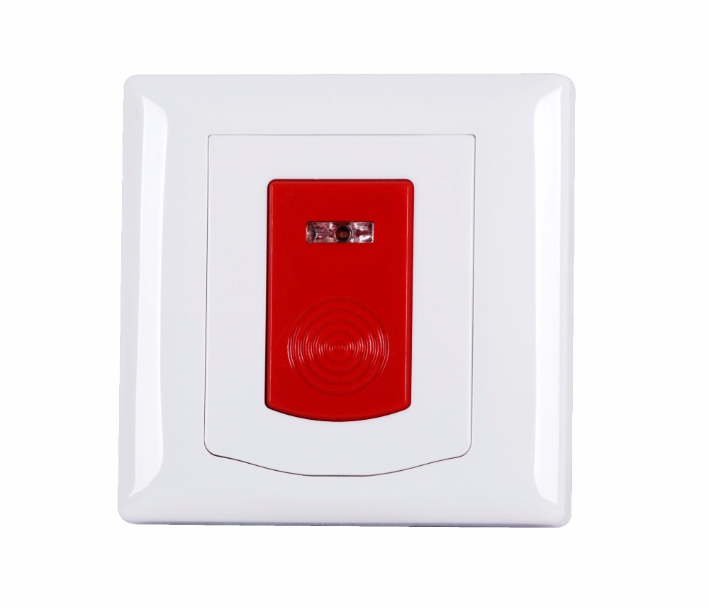 Wireless Emergency Panic Button Indoor Wall Mounting Works With ST-IIIB And ST-VGT Alarm System