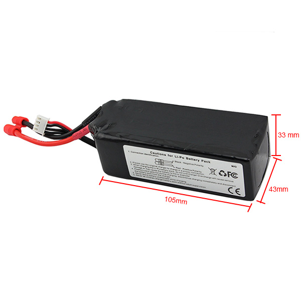 ФОТО Lipo Battery 11.1V 5200Mah 3S 15C For Walkera QR X350 PRO RC FPV Drone Quadcopter Helicopter Bateria Lipo Toy Parts Genuine