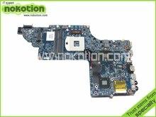 Placa madre Del Ordenador Portátil Para Hp Pavilion dv6-7000 Intel NVDIA NOKOTION GT630M Gráficos DDR3 682168-001 48.4ST10.021